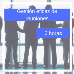 gestión eficaz de reuniones