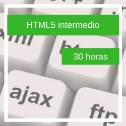 Curso online HTML5 intermedio